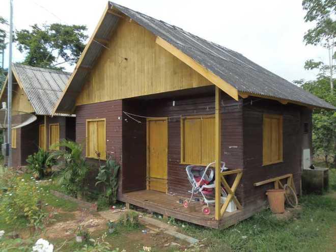 A casa e última moradia da criança que foi vítima de um maníaco com histórico bastante conhecido na cidade - Foto: Raimari Cardoso