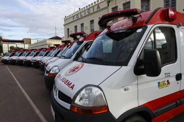 As 10 viaturas vão beneficiar seis municípios acreanos (Gleilson Miranda/Secom)