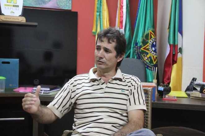 Marcinho Miranda, prefeito de Xapuri - Foto: Alexandre Lima