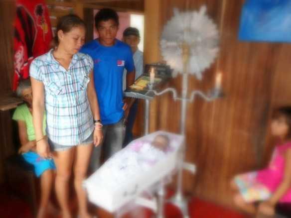 Família está inconformada com a morte prematura da pequena Geovana/Foto: Agência ContilNet
