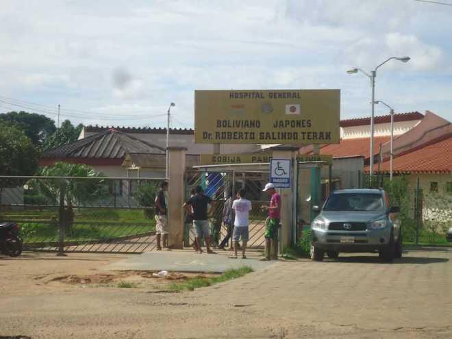 Em cobija, Hospital Roberto Galindo,pra onde as vítimas brasileiras foram levadas