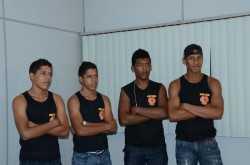 """Representantes do projeto """"Treinando Futuros Campeões"""", na modalidade Boxe Chinês. Grupo foi um dos beneficiados em 2012 (Foto: Assessoria SEE)"""