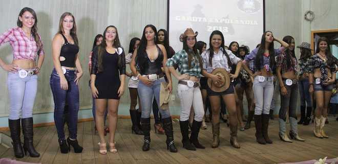 Seleção final das 10 jovens segundo o jurado - Foto: Alexandre Lima