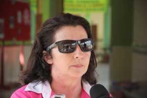 Diretora da escola KJK em Brasiléia, Vilma Galli.