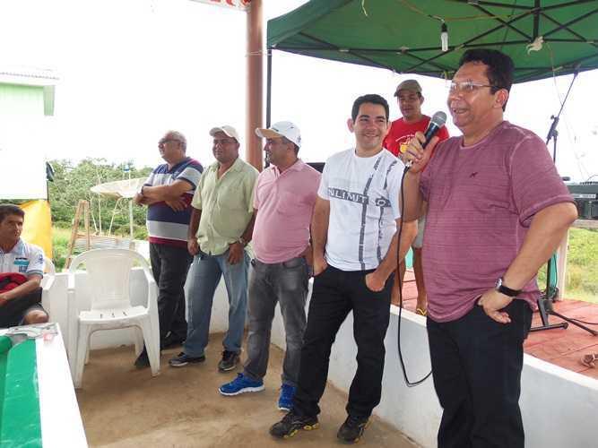 Deputado Edivaldo de Souza se fez presente na abertura