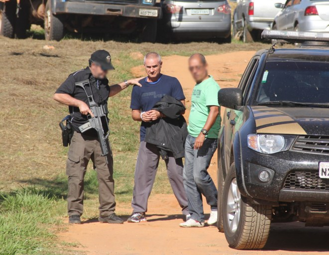 Roger Campana, de nacionalidade francesa, era pela Polícia Internacional (Interpol) e foi preso em Brasiléia - Foto: Alexandre Lima