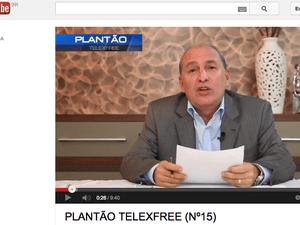 Carlos Costa, diretor de marketing da Telexfree (Foto: Reprodução/Youtube)
