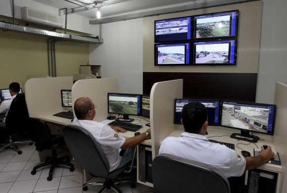 Serão 59 novas câmeras instaladas nas cidades de fronteira (Foto: Gleilson Miranda/Secom)