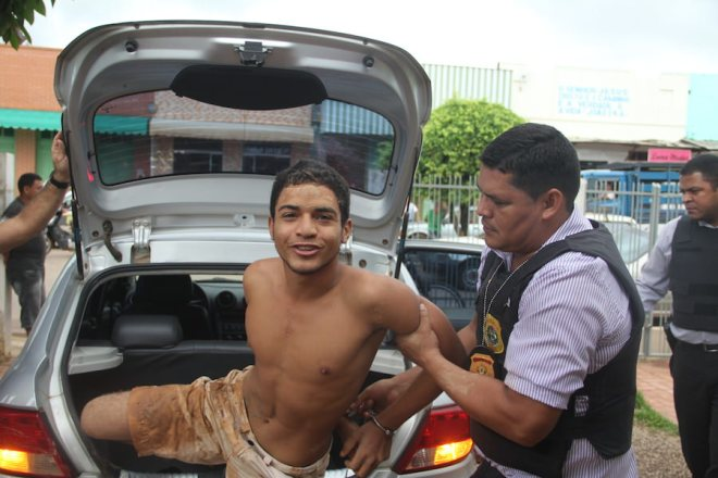 Meliante será transferido para para o presídio nas próximas horas - Foto: Alexandre Lima