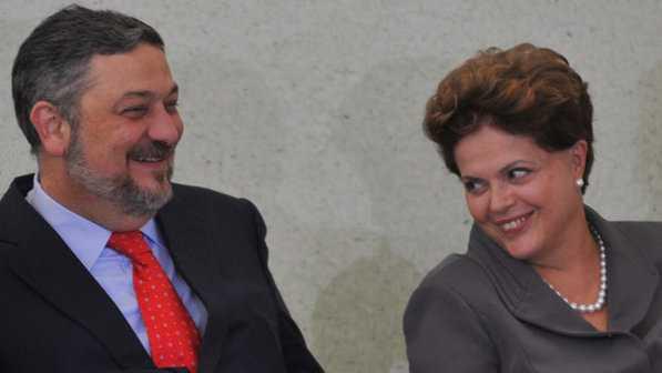 Antonio Palocci, o primeiro homem forte de Dilma a cair (Antonio Cruz/ABr)