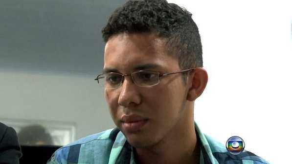 Caio Silva de Souza foi preso na Bahia (Reprodução/TV)