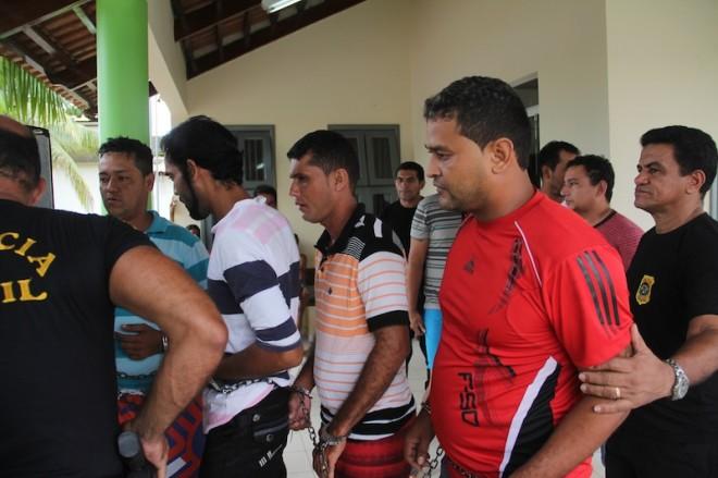 Dia da detenção dos acusados em março de 2013 - Foto: Arquivo