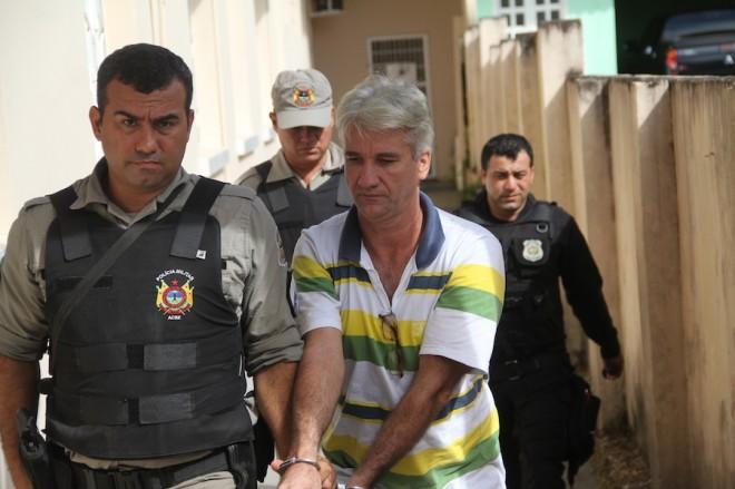 Luiz é o principal acusado de ter arquitetado e matado a jovem - Foto: Alexandre Lima