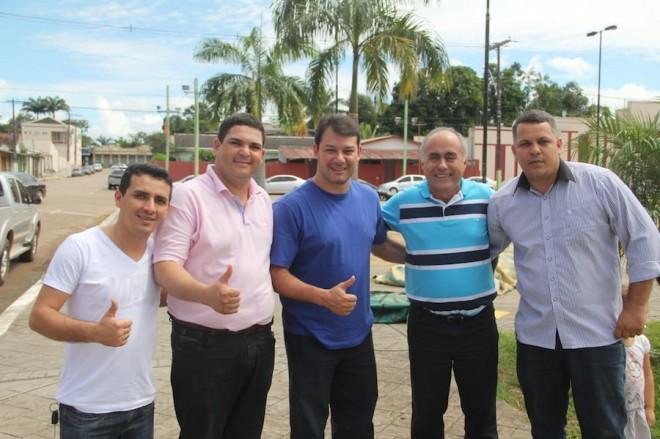 Bocalom e Duarte visitaram e receberam apoio de liderancás em Brasiléia e Epitaciolândia - Foto: Alexandre Lima