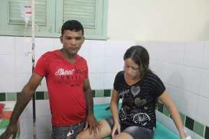 Ronaldo nada sofreu, já sua esposa teve algumas costelas fraturadas. Ambos não correm riscos de morte - Foto: Alexandre Lima