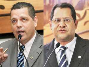 Deputados Major Rocha e Eduardo Farias