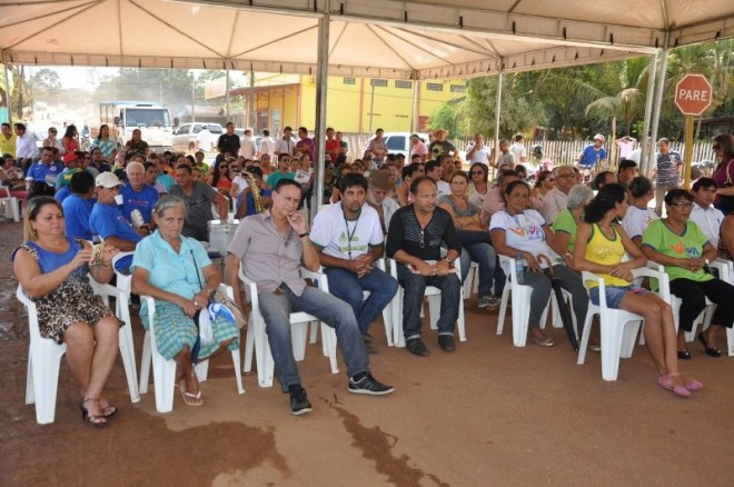 População participou do momento que é importante para a cidade - Foto: Assessoria