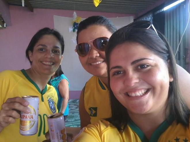 Na concentração pelo Brasil
