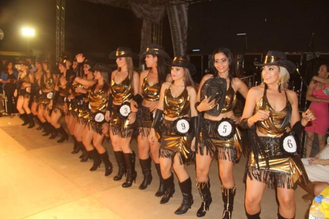 12 candidatadas concorreram ao título da Garota Expolândia 2014 - Foto: Alexandre Lima