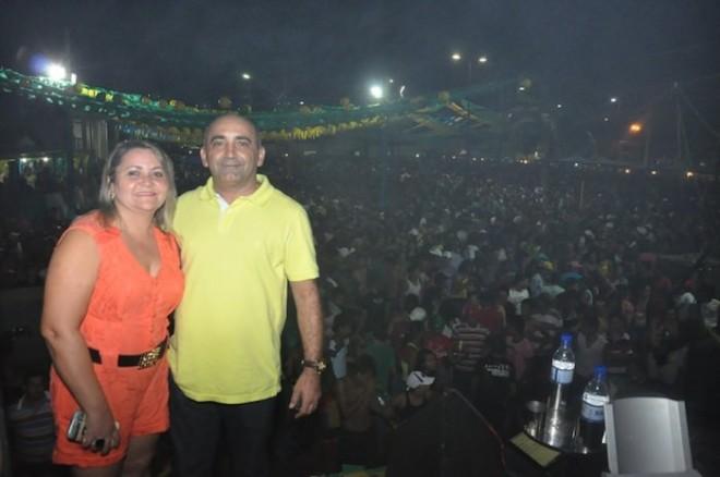 """""""Agradeço a minha equipe e a todos os patrocinadores que ajudaram na realização do evento..."""", disse o prefeito Everaldo Gomes"""