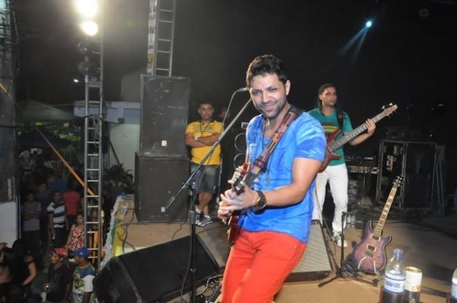 Banda Chicana, da Bahia animou o público que foi à Praça Ugo Poli