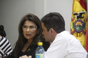 Deputada Antonia Sales (PMDB) fez parte na reunião