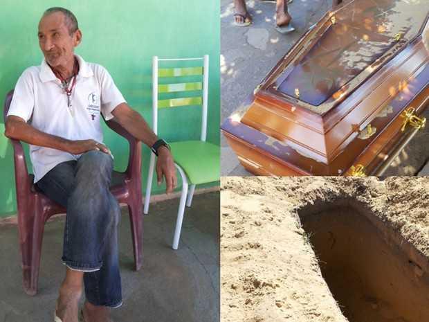 Aposentado Romão disse que se sentia mais vivo do que nunca (Foto: Sílvio Vieira / Cliquepiripiri)