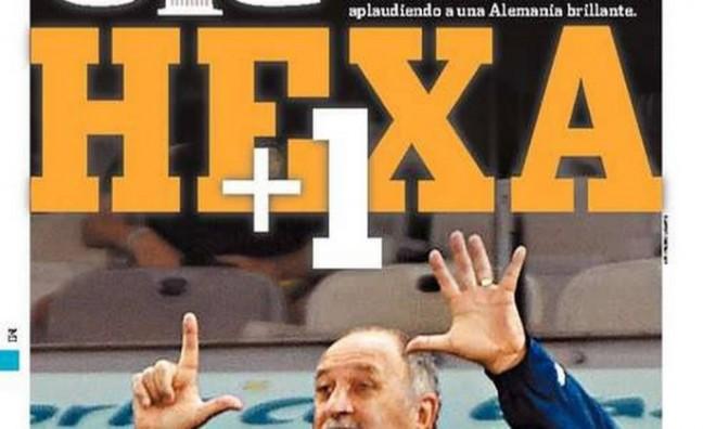 Capa do Olé -