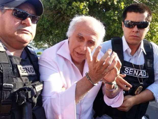 Ex-médico foi preso no Paraguai. (Foto: Divulgação/Secretaria Nacional de Antidrogas do Paraguai)