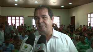 Sebastião Viana anunciou em março que a licitação seria em abril. Foto/captura