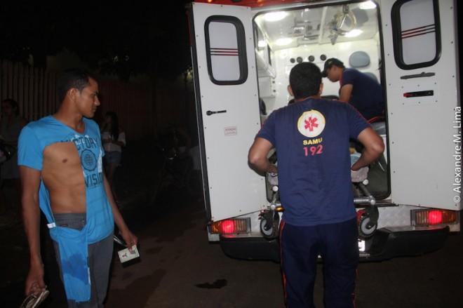 Everaldo, esposo de Thais, apresentava estar sob efeito de álcool. Foi conduzido ao comando da PM juntamente com Reginaldo - Foto: Alexandre Lima