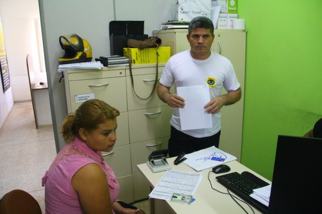 Delegado Sérgio Lopes preparou os documentos para a transferência de Lixfani para o presídio na Capital - Foto: Alexandre Lima