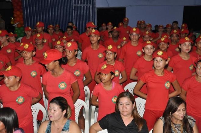 45 bombeiros mirins se formaram neste ano de 2014 na regional do Alto Acre.