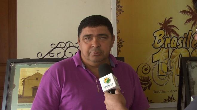 Secretário de Cultura de Brasiléia, Roberto Nascimento - Foto/Captura