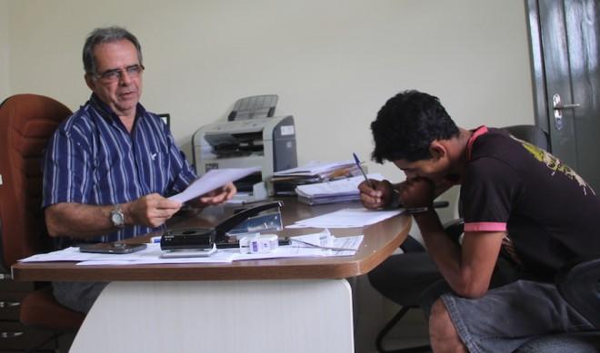Delegado Mardilson Vitorino encaminhou o caso à Comarca de Brasiléia - Foto: Alexandre Lima