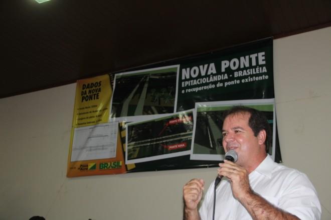 Sebastião Viana, governador do Acre - Foto/Arquivo