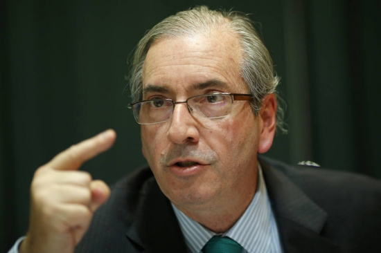 Entrevista exclusiva com o presidente da Câmara dos Deputados, Eduardo Cunha, em seu gabinete de trabalho