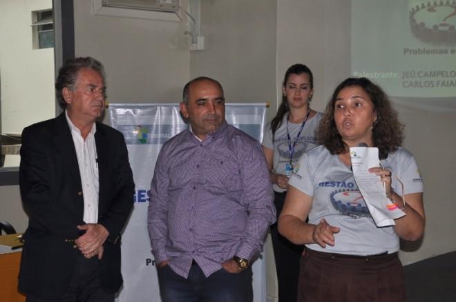 Prefeito de Brasiléia, Everaldo Gomes esteve presente no seminário - Foto: Lair Sabino