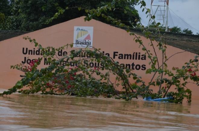 Cerca de 70% de sua estrutura foi afetada durante a enchente - Foto: Lair Sabino