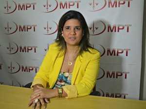 Procuradora do MPT, Marielle Viana Cardoso (Foto: Quésia Melo/G1)