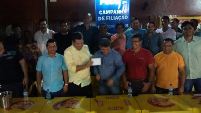 Delegado de polícia, Sérgio Lopes, é possivel pré-candidato a prefeito pelo PSDB no município de Epitaciolândia - Foto: celular/cedida