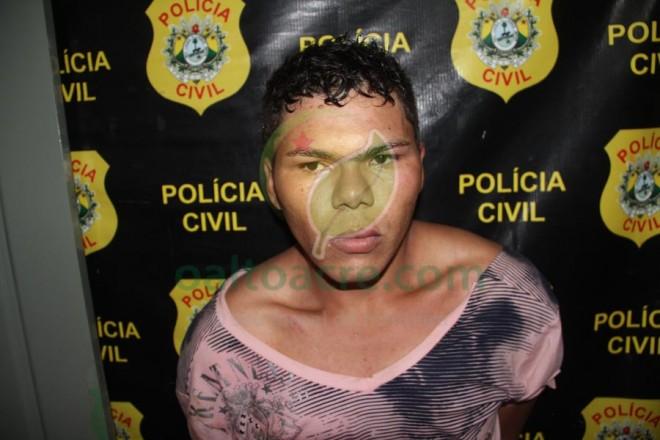 Deibson tem extensa ficha criminal e vinha sendo procurado pela justiça acreana, além de praticar crimes em solo boliviano - Foto: Alexandre Lima