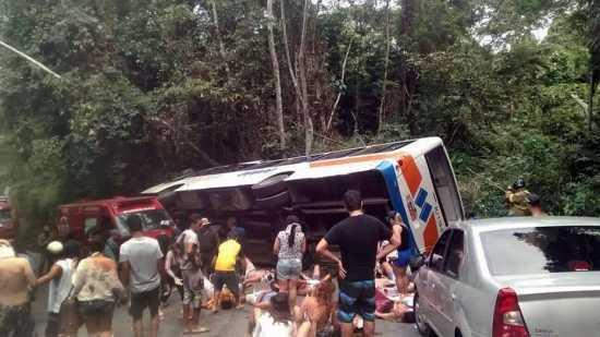 Desastre aconteceu na estada que liga a Rodovia Rio-Santos à Praia de Trindade