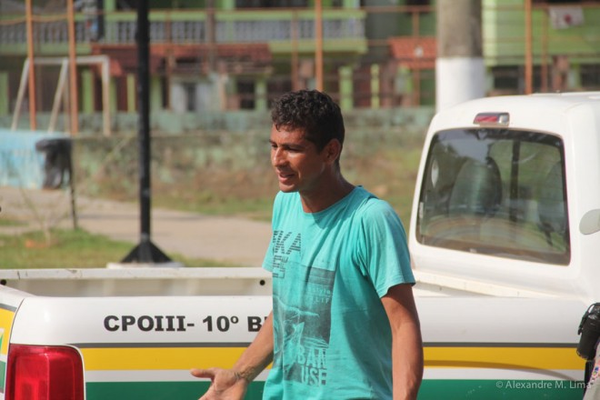 ... e José Vasconcelos de Almeida, foram detidos em flagrante delito após furtar em Brasiléia.