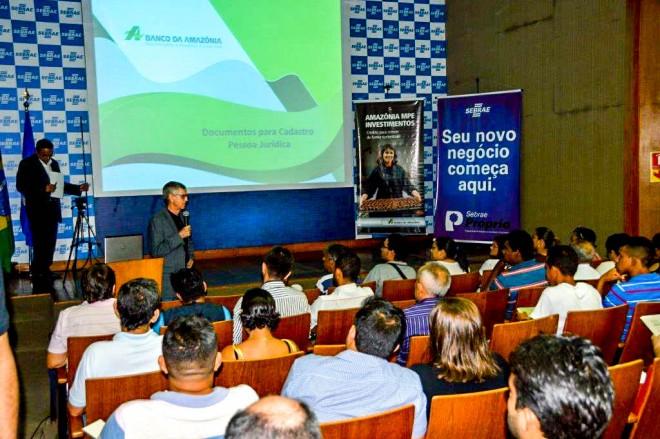 62% do fomento ao crédito no Acre foram realizados pelo Banco da Amazônia (Foto: Raylanderson Frota / Assessoria Banco da Amazônia)