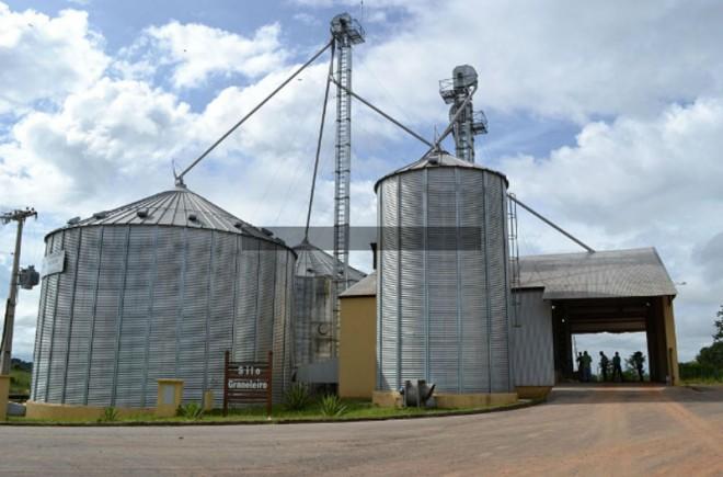 Deputado diz que os grãos estavam estocados no silo de Brasiléia/FOto: Secom
