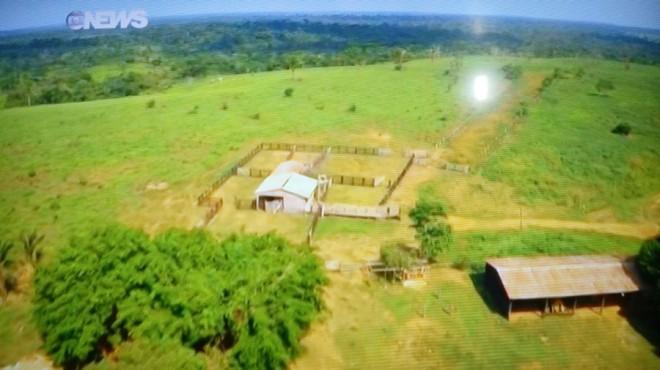 O Fantástico mostrou as terras adquiridas pelo procurador Wilian João Silva
