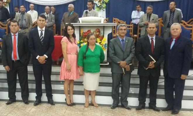 Nova diretoria da Assembleia de Deus em Epitaciolândia.