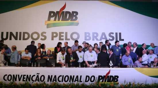 Peemedebistas se dividem entre apoio e críticas ao governo da presidente Dilma Rousseff durante a convenção nacional do partido, que ocorre em Brasília.