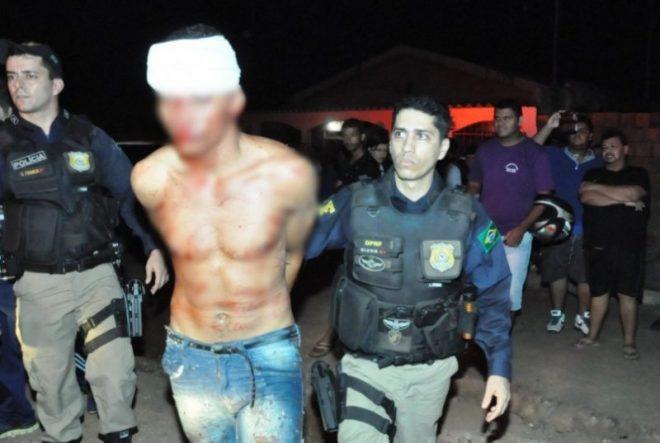 Elvis de Souza foi capturado e conduzido à delegacia